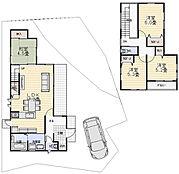 建物プラン例:建物価格1617万円、建物面積92.57平米