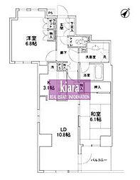 AMAX YOKOHAMA[6階]の間取り