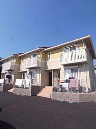 埼玉県富士見市水子の賃貸アパートの外観