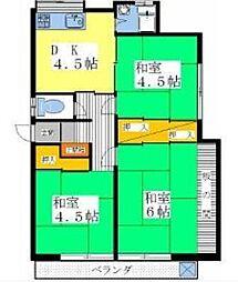 高山アパート[2階]の間取り