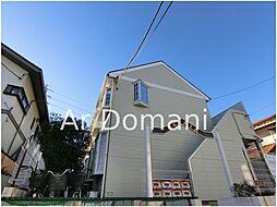 千葉県松戸市小金原8の賃貸アパートの外観