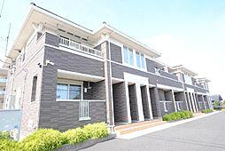埼玉県越谷市大道の賃貸アパートの外観