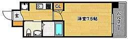 兵庫県神戸市兵庫区塚本通5丁目の賃貸マンションの間取り