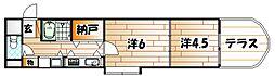 ARK-M(アークエム)[3階]の間取り