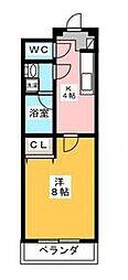 アドバンス籠原南[3階]の間取り