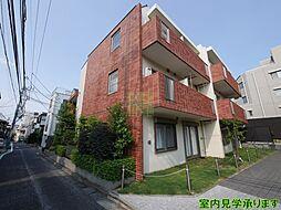 東京都新宿区南榎町の賃貸マンションの外観