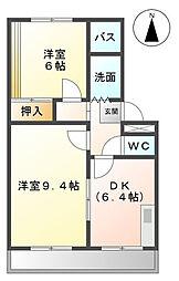 WING香久山A・B[1階]の間取り