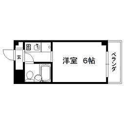 ロイヤルレジデンス[2階]の間取り