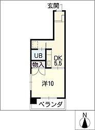 サンダンケ[1階]の間取り