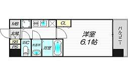 エスライズ新大阪フロント[4階]の間取り