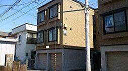 北海道札幌市豊平区美園六条8丁目の賃貸アパートの外観