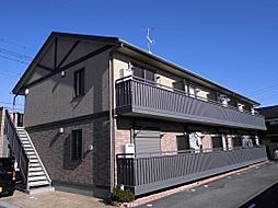 埼玉県熊谷市別府4丁目の賃貸アパートの外観