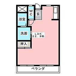 サンシャイン星崎[3階]の間取り