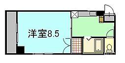 グランシャリオK[2階]の間取り
