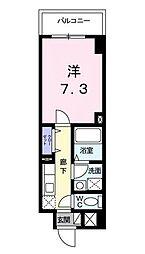 エテルネル・パレ bt[206kk号室]の間取り