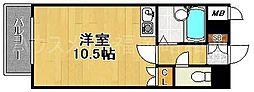 ライオンズマンション博多中央[1階]の間取り