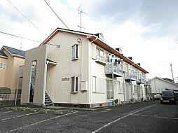 埼玉県上尾市向山3丁目の賃貸アパートの外観