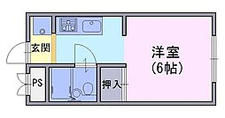 Solana長岡京[402号室]の間取り