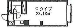 アンビシアス 蒲田 bt[207kk号室]の間取り