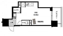 RESIDIA〜レジディア〜西新[5階]の間取り