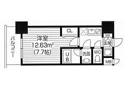 S−RESIDENCE福島Luxe[1106号室]の間取り