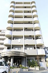 福岡県福岡市早良区西新6丁目の賃貸マンションの外観