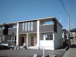 群馬県高崎市南大類町の賃貸アパートの外観