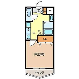 TRENDY21[1階]の間取り