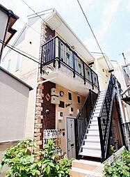 神奈川県横浜市磯子区広地町の賃貸アパートの外観