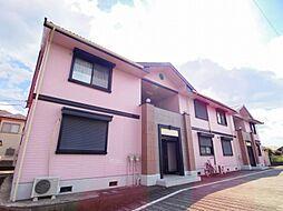 東京都東村山市富士見町4丁目の賃貸アパートの外観