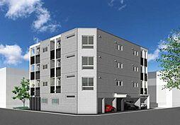 北海道札幌市中央区北四条西26丁目の賃貸マンションの外観