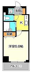 フェニックス国分寺弐番館[5階]の間取り