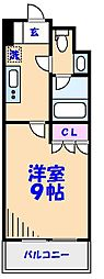 ParkAxis西船橋本郷町[903号室]の間取り