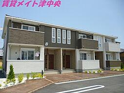 三重県津市河芸町一色の賃貸アパートの外観