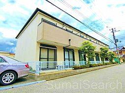 大阪府堺市北区百舌鳥本町3丁の賃貸アパートの外観