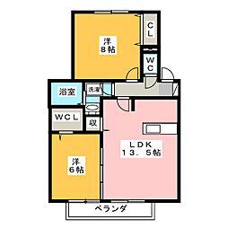 レクサス[2階]の間取り