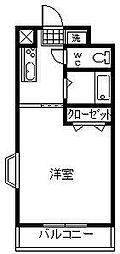 アルカコンネ桜[303号室]の間取り