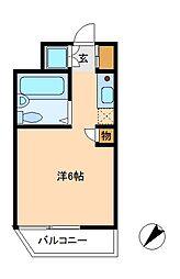 ウインベルソロ八柱5[5階]の間取り