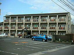コーポ三沢[2階]の外観