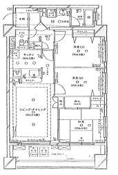 エストグランディール横濱関内[2階]の間取り