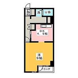 ドムス・栄[4階]の間取り