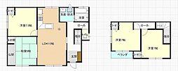 函館市山の手3丁目 戸建て 4LDKの間取り