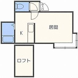 MMハイムI[2階]の間取り