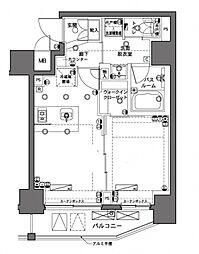 横浜市営地下鉄ブルーライン 横浜駅 徒歩10分の賃貸マンション 2階1LDKの間取り