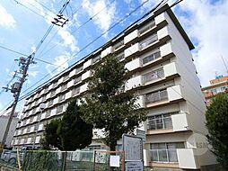 ローズハイツ茨木[1階]の外観