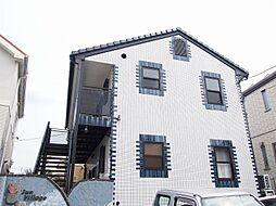 茨城県守谷市ひがし野3丁目の賃貸アパートの外観