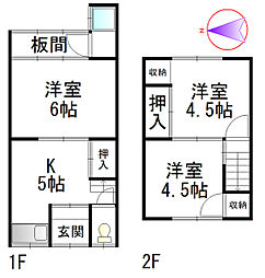 京阪石山坂本線 別所駅 徒歩6分