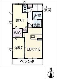 セゾンハイム[2階]の間取り