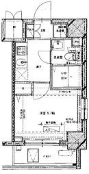 (仮称)川崎藤崎3丁目マンション[304号室]の間取り