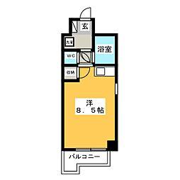 ダイヨシビル[11階]の間取り